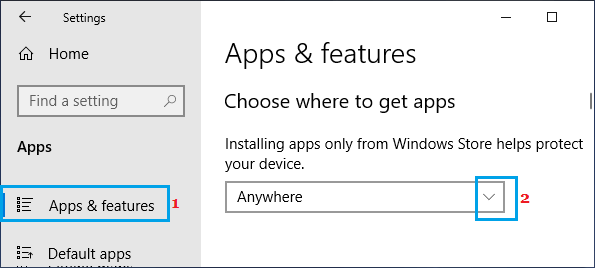 Enable Installation of Third Party Apps on Windows PC