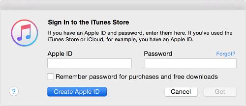 Create Apple ID Option On Mac
