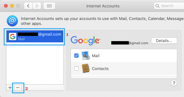 Delete Email Account From Mac