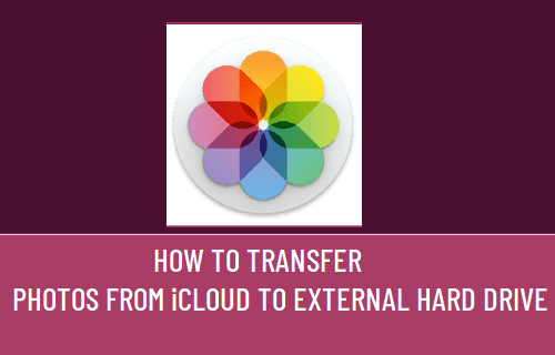 Transfer Photos from iCloud to External Hard Drive