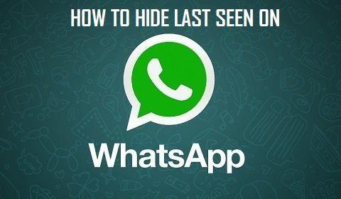 Hide WhatsApp Last Seen