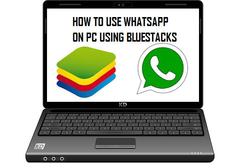 WhatsApp on PC Using BlueStacks