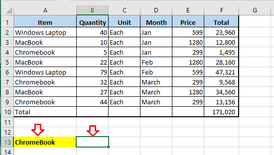 VLOOKUP Data and Value to Lookup