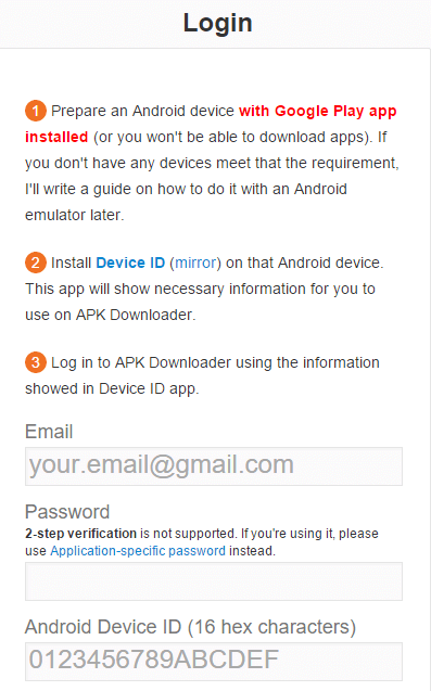 apk-downloader-login