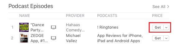 Download Free Podcast on Mac From iTunes