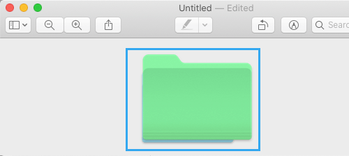Select New Color Folder in Preview App