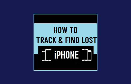 Track and Find Lost iPhone