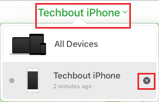 Disable Find My iPhone Using iCloud
