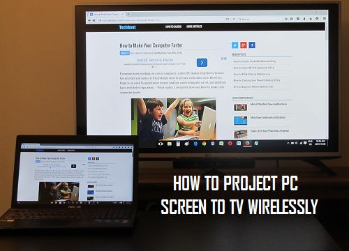 How to Project Computer Screen to TV in Windows 10
