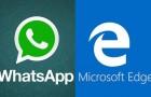 Use WhatsApp on Microsoft Edge
