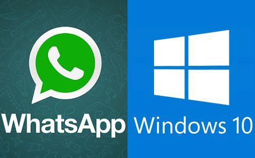 How to use WhatsApp on Windows 10