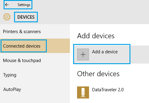 Windows 10 Add A Device