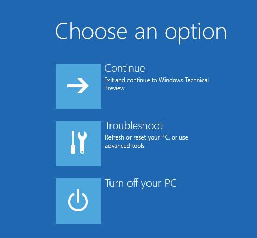 Windows 10 Boot up Screen
