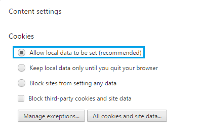 Allow Local Data to be Set