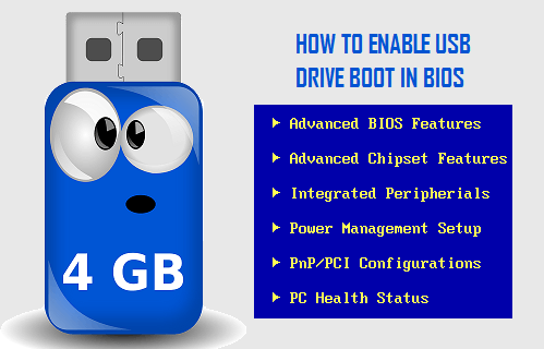 How to Enable USB Drive Boot in BIOS