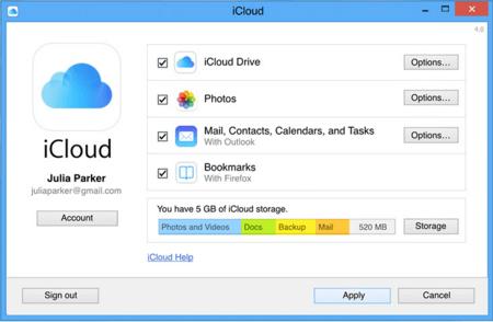 iCloud Sync Settings