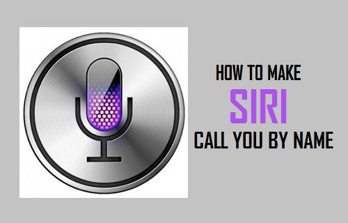 How to Make Siri Call You By Any Name