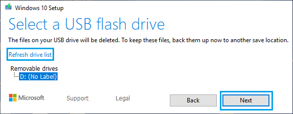 Download Windows ISO to USB Flash Drive