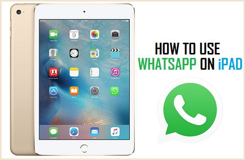 How To Use Whatsapp On Ipad