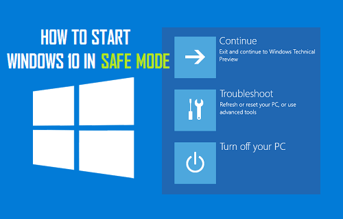 How to Start Windows 10 in Safe Mode Without F8 Key
