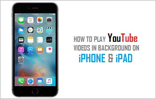 play youtube in background iphone how to play in background on amp iphone 2163