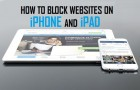 Block Websites iPhone and iPad
