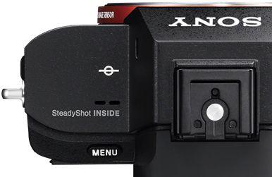 Camera image stabilization software inside