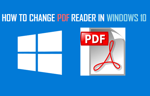 Change PDF Reader in Windows 10