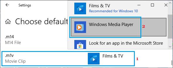 Change Default App for Music File