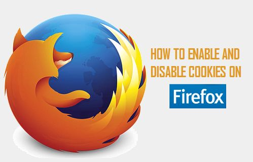 Enable and Disable Cookies on Firefox