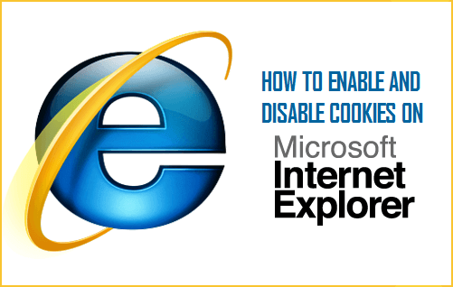 Enable and Disable Cookies on Internet Explorer