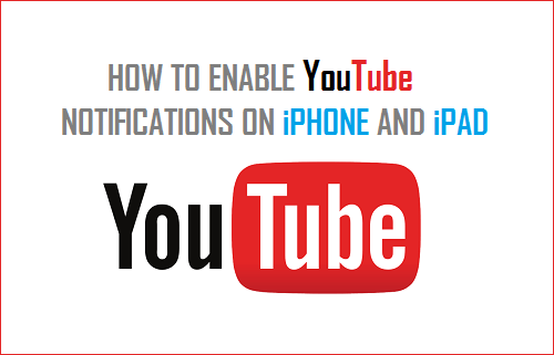 Enable YouTube Notifications on iPhone and iPad