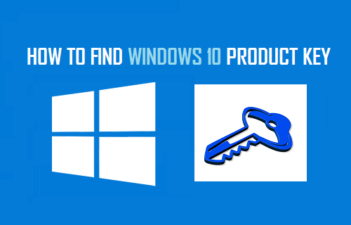 get windows 10 product key from computer