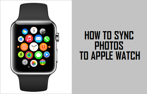 sync photos to apple watch from iphone