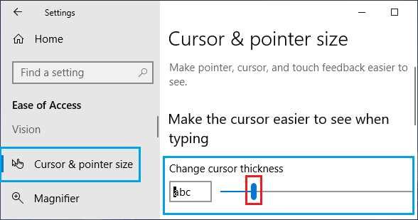 How to Enlarge Cursor and Change Mouse Pointer in Windows 10