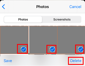 Delete Photos From iMessage
