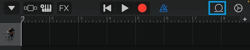 Loop Icon in GarageBand App