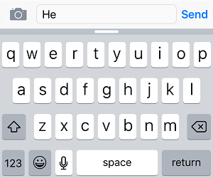 Predictive Text Suggestions Disabled on Keyboard
