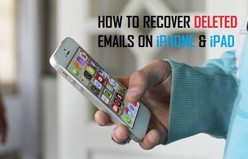 how to retrieve an email on ipad