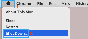 Shut Down Mac