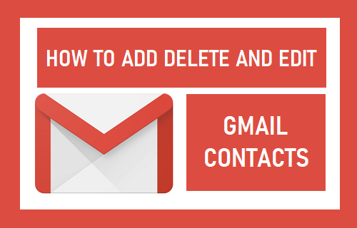 Add, Delete and Edit Gmail Contacts