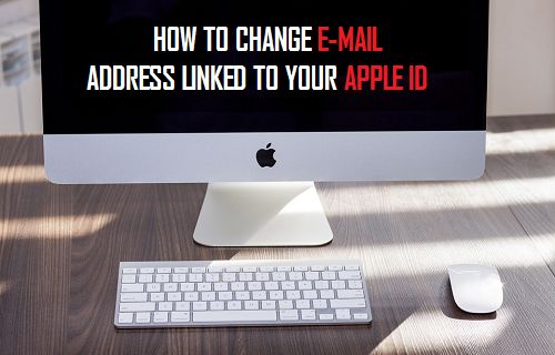 Change E-mail Address Linked to Apple ID