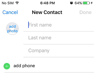 how to send all contacts to new phome