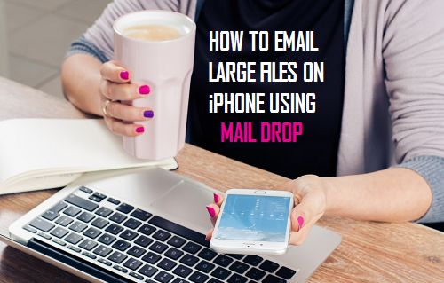 How to Email Large Files On iPhone Using Mail Drop