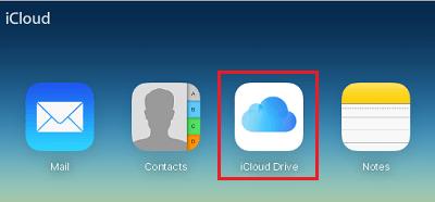 how to move icloud drive folder