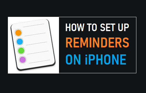 Set Up Reminders on iPhone