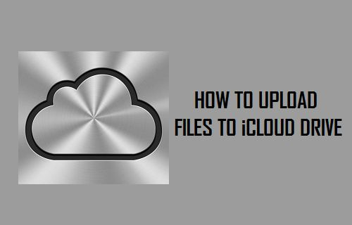 How to Upload Files to iCloud Drive