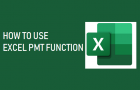 Use Excel PMT Function