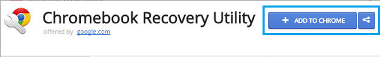 Add Chromebook Recovery Utility to Chrome Browser