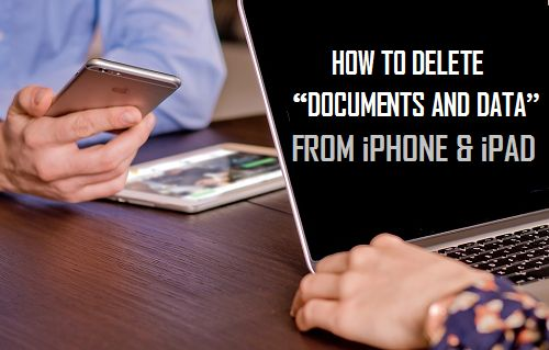 Delete Documents and Data On iPhone and iPad